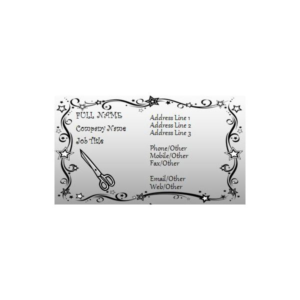 Example #6 Business Card Examples Pinterest - microsoft word application template