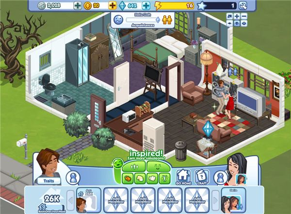 play free games like the sims