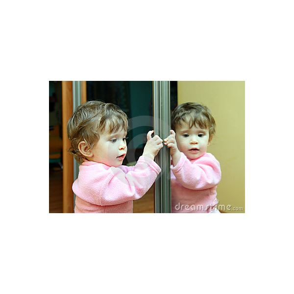 Infant Child Learning Center Using Daycare Mirrors Infant Development With Mirrors For