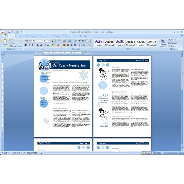 Download The Top Free Microsoft Word Templates - Newsletters
