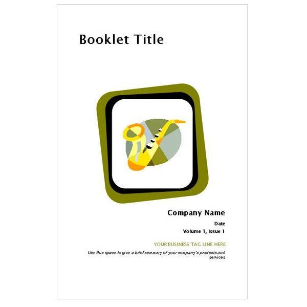 Learn How to Make a Mini Book in Publisher - booklet template