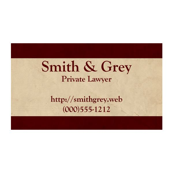 Designing Business Cards for Lawyers Tips, Tricks and Free Templates