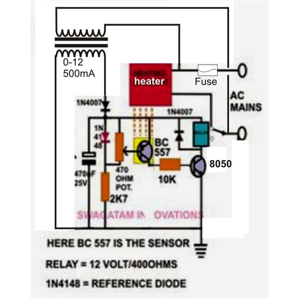 How to Build a Low Cost Temperature Controller? Simple Circuit Idea