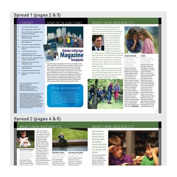 Great Free Magazine Layout Templates Use As-Is or Get Inspiration