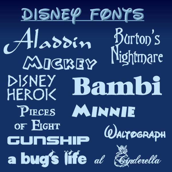 Top 10 Free Walt Disney Fonts Featuring Walt Disney\u0027s Handwriting