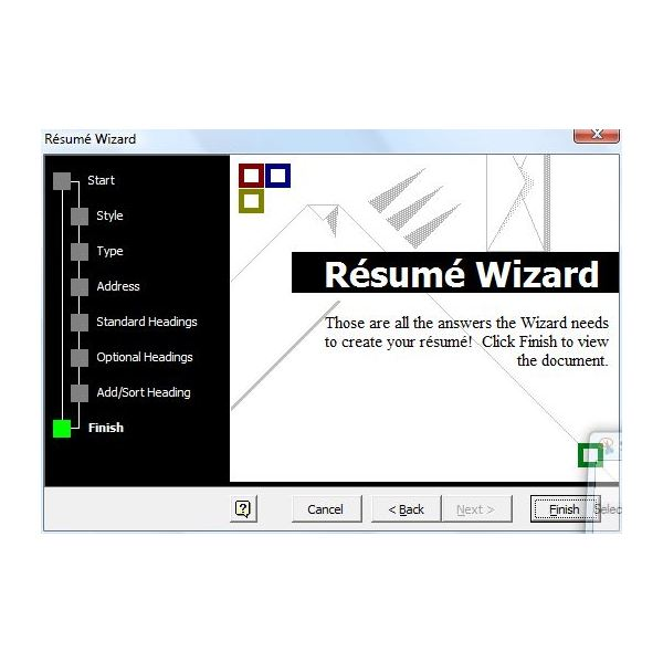 Free Printable Resume Wizard. Cv Templates Word