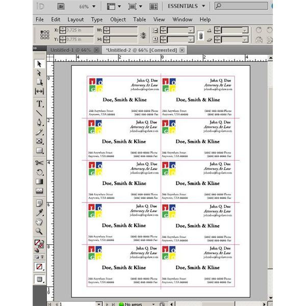 Try These Blank InDesign Business Card Templates to Save Time and Money