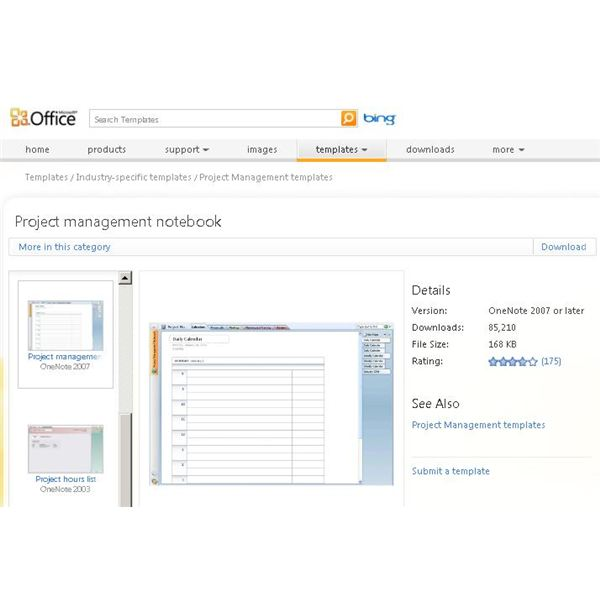 Using MS OneNote Project Management for Organization \ Collaboration - project tracking template