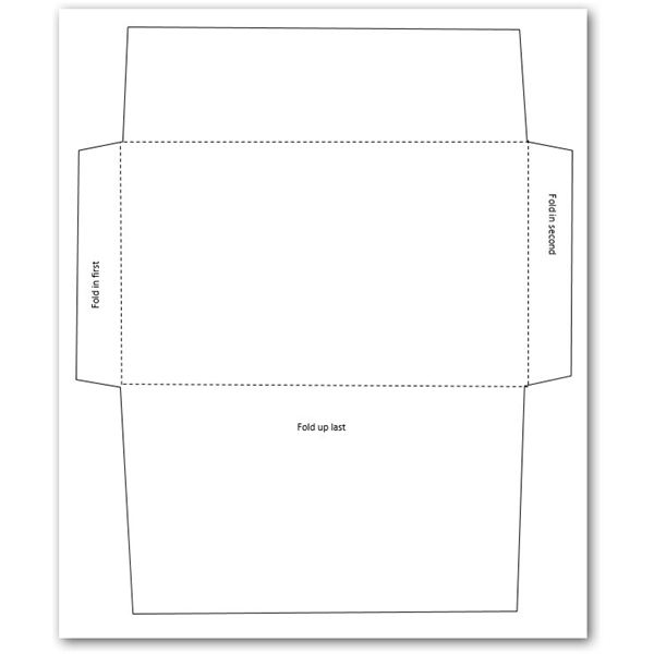 Sample Business Envelope Template Proper Business Envelope - 4x6 envelope template