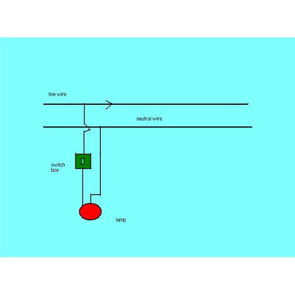 Simple Switch Wiring Diagram circuit diagram template