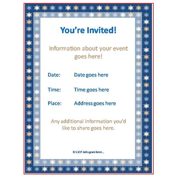 Event Invitation Template – Event Invitation Templates