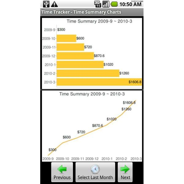 Best Android App Time Billing Tracker