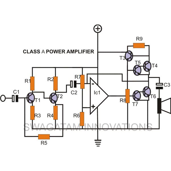 How to Make a DIY Class A Amplifier Simple Construction Using