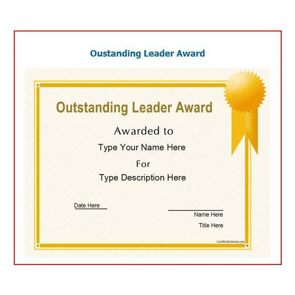 Free Printable Award Certificates10 Great Options for a Wide Range - Blank Award Templates