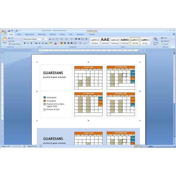 Download Pocket Calendar Template - Microsoft Word Tips - Microsoft Calendar Template