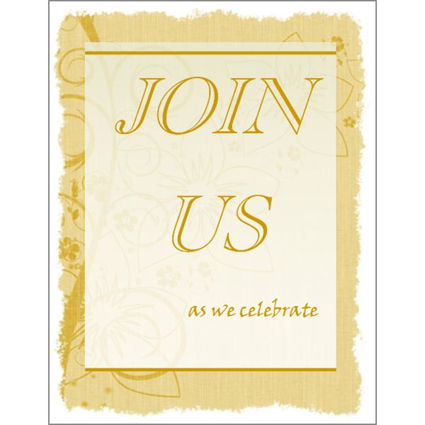 Free Printable Invitations 5 Templates for Microsoft Publisher - free corporate invitation templates