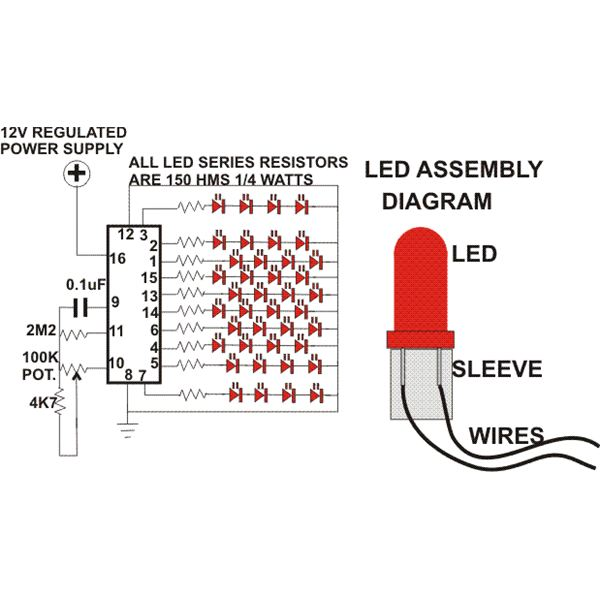 Basic Led Wiring - Wiring Diagram Progresif
