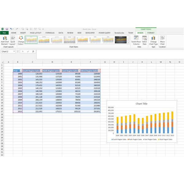 How to Create a Bar Chart and Format Your Graphs in Excel 2013