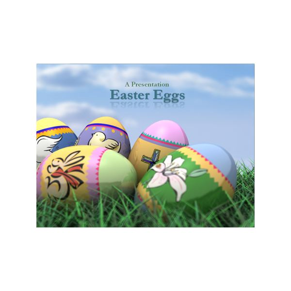 ... Sample Easter Powerpoint Template . Free Powerpoint ...