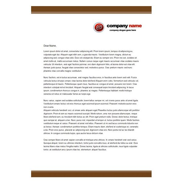 Business Letterhead (Urgent Printing Services) Use for - free letterhead samples