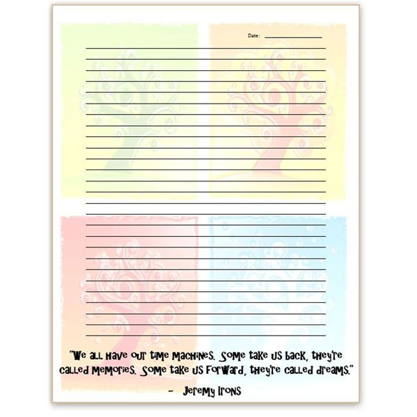 ms word diary - Onwebioinnovate - microsoft lined paper template