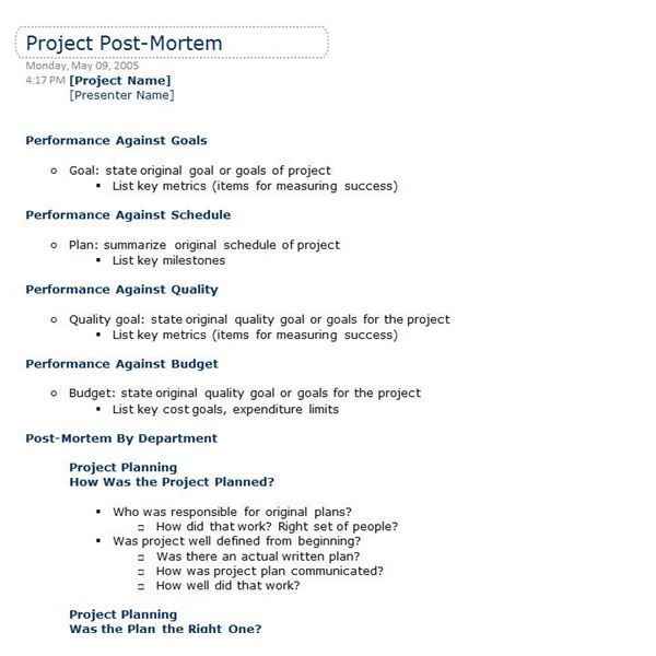 OneNote Templates to Help Your Projects Run Smoothly - project summary report sample