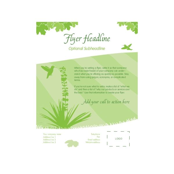 Free Templates for Microsoft Publisher Flyers - microsoft templates for flyers