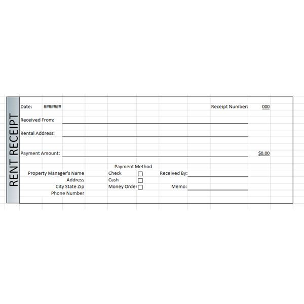 Free Rent Receipts. Duties And Responsibilities Of A Sales Associate