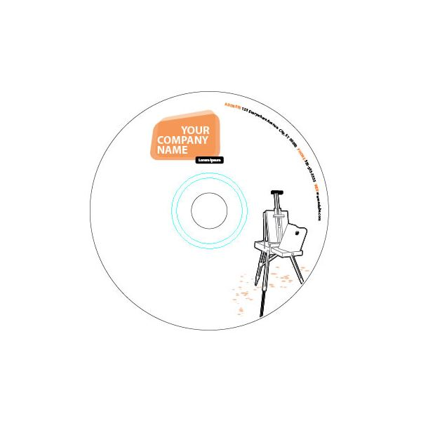How to Use CD Label Templates in Adobe Illustrator - cd label templates