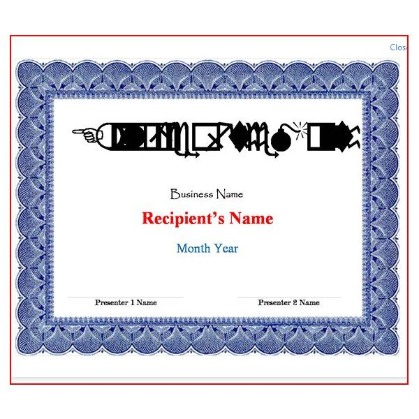 Free Certificate Templates for Your Business Awards  Motivation