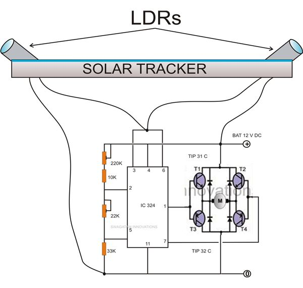 Simple Solar Tracker Circuit Diagram Image car block wiring diagram