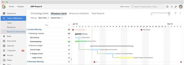 The Best 5 Project Schedule Software Review of Free and Paid Options