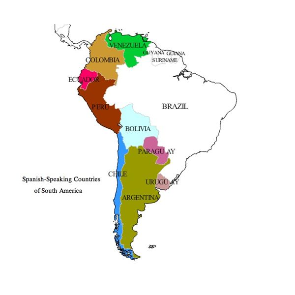 Names of Nationalties in Spanish A Lesson Covering Central and