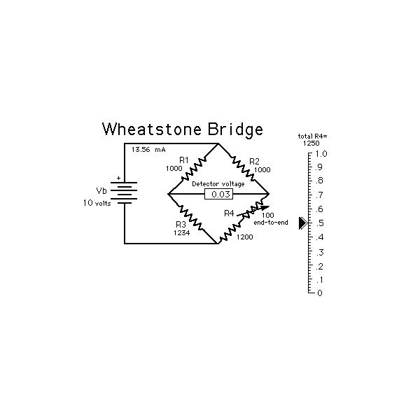 How does a Wheatstone Bridge work ?
