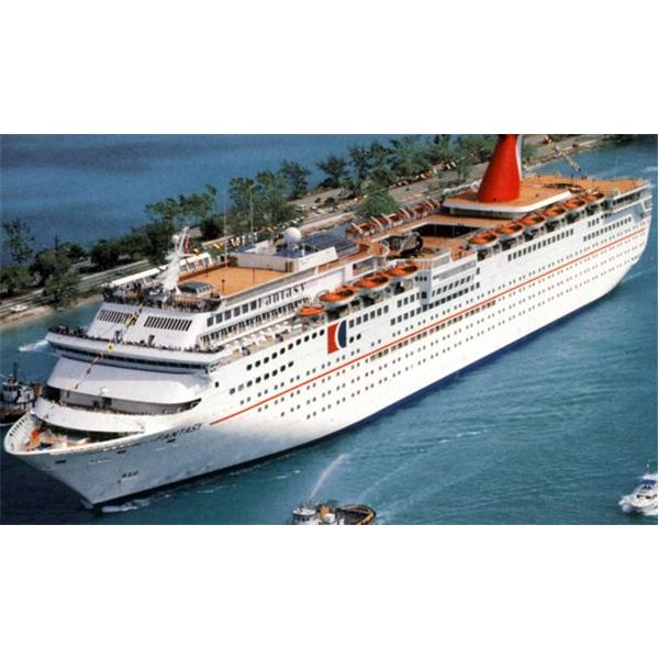 Cruise Liners - Different types of ships - types of ships