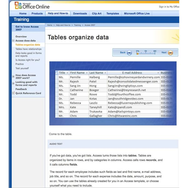 Learn Microsoft Access Online - Free Resources and Tutorials for MS - office forms online
