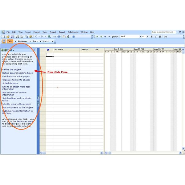 MS Project Tutorial How To Start a Project in Microsoft Project