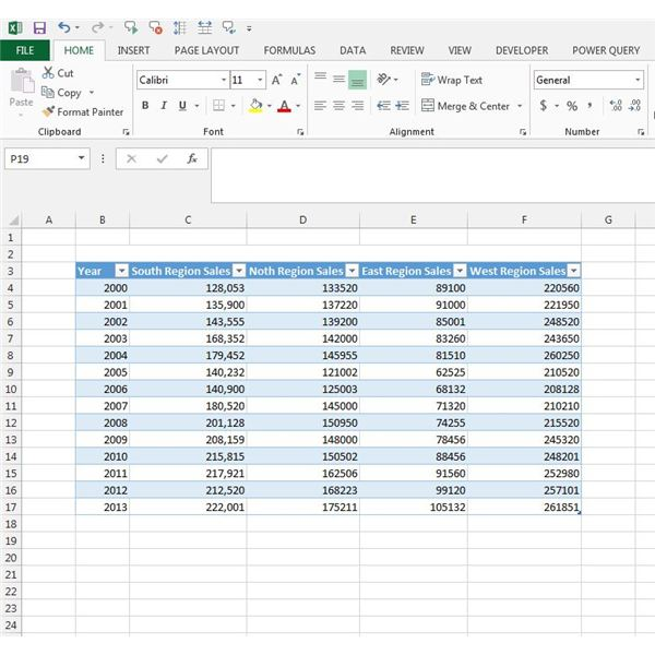 How to Create a Bar Chart and Format Your Graphs in Excel 2013 - How To Graph Excel