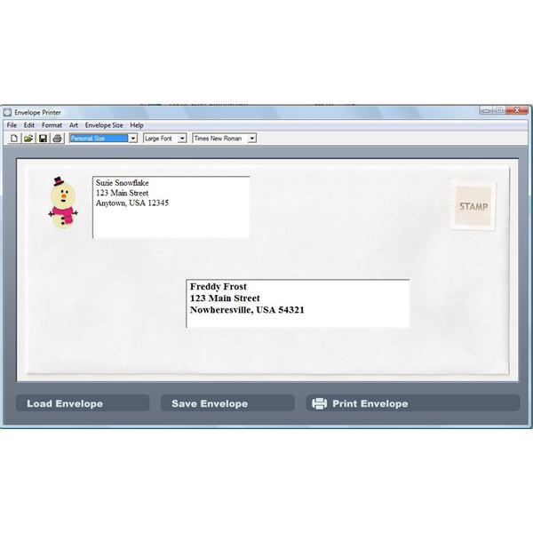 Find 5 Free Envelope Printing Software Programs - Create