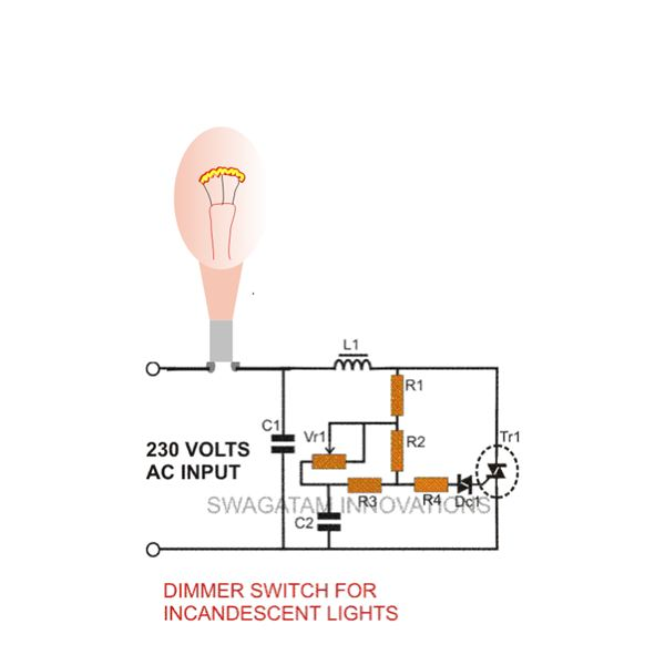 How to Make a Dimmer Switch For Incandescent Lights Construction