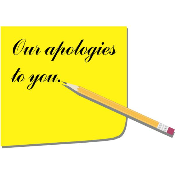 Business Apology Letter Sample - The Role, Building Blocks, Timing - letter apologies