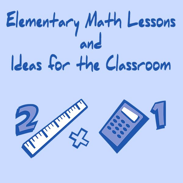 A Guide to Lesson Plans for Elementary School Math