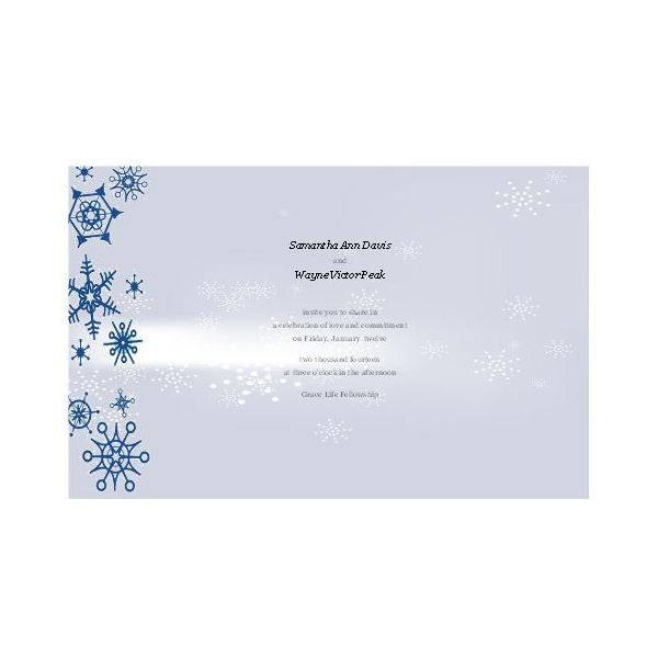 Free Winter Wedding Invitations for Publisher Design Tips and Downloads - microsoft word wedding invitation templates free