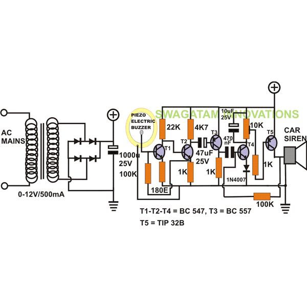 vibration control switch circuit