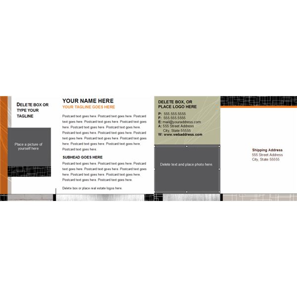 Microsoft Word Postcard Template Downloads - Microsoft Word Postcard Template
