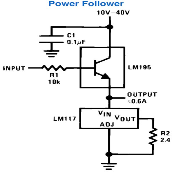 lm317 constant current circuit