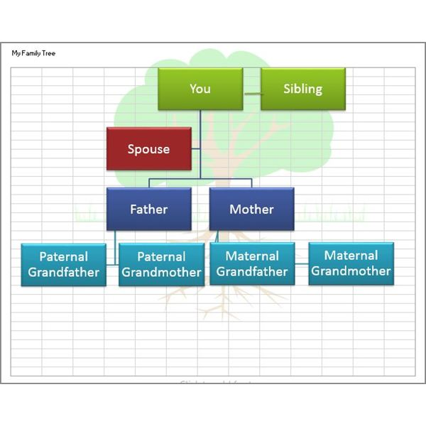 Create a Family Tree With the Help of These Free Templates for - ms office family tree