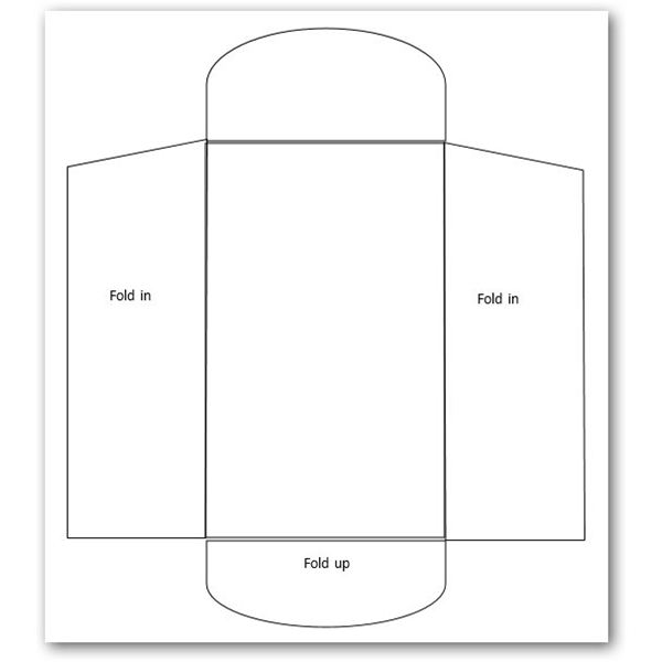 Sample Letter Envelope Template It Offers A Horizontal Card With - 4x6 envelope template