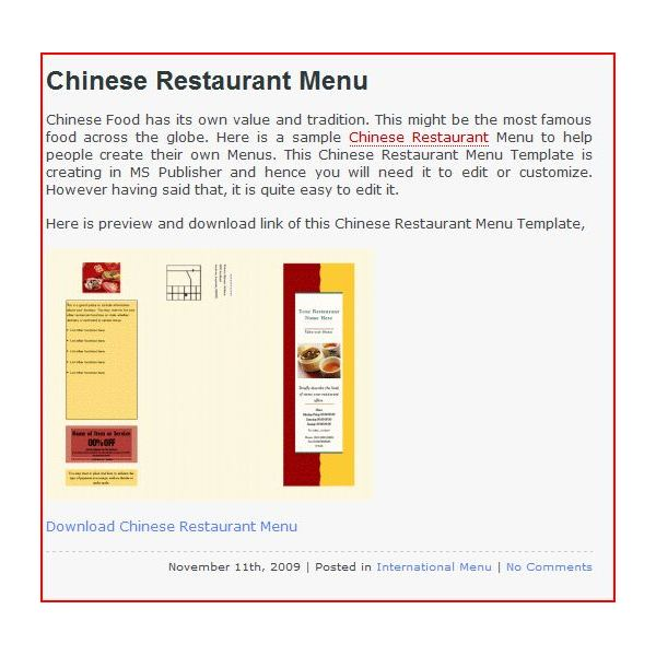 If You Need A Restaurant Menu Template Here Are 11 Excellent - how to make a restaurant menu on microsoft word