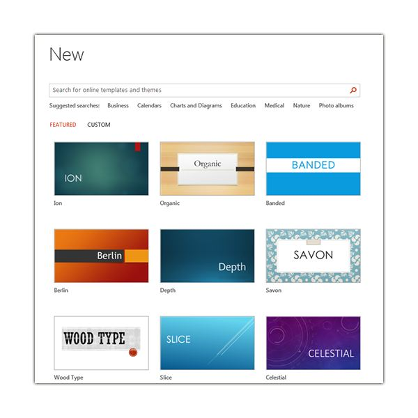 Customizing a Theme in Microsoft PowerPoint 2013 - ion powerpoint theme